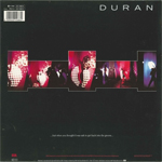 "Duran Duran - Notorious 12"" (back cover)"