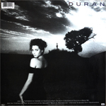 Duran Duran - Notorious LP (back cover)