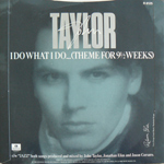 "John Taylor - I Do What I Do 7"" (back cover)"