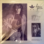 Andy Taylor - Fatal Kiss LP (cover)