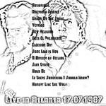 Duran Duran - Live In Atlanta 1987 (back cover)