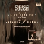 "Andy Taylor - Life Goes On 12"" (back cover)"