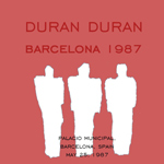 Duran Duran - Barcelona 1987 (back cover)