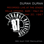 Duran Duran - Strange Behaviour Bari (back cover)
