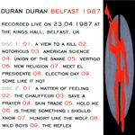 Duran Duran - Belfast 1987 (back cover)