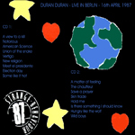 Duran Duran - Deutschlandhalle Berlin (back cover)