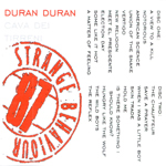 Duran Duran - Strange Behaviour Cava Dei Tirreni (back cover)
