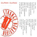 Duran Duran - Strange Behaviour Cava Dei Tirreni (back cover)