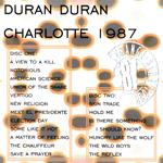 Duran Duran - Charlotte 1987 (back cover)