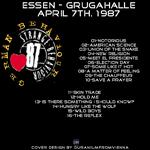 Duran Duran - German Behaviour Essen (back cover)
