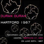 Duran Duran - Hartford 1987 (back cover)