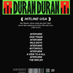 Duran Duran - Hitline USA (back cover)