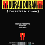 Duran Duran - Joan Rivers Talk Show (back cover)