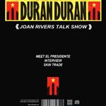 Duran Duran - Joan Rivers Talk Show (back cover)