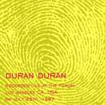 Duran Duran - Los Angeles 1987 (back cover)