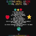 Duran Duran - Queens Hall Leeds (back cover)