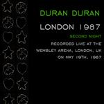Duran Duran - London 1987 (2nd Night) (back cover)