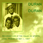 Duran Duran - Lyon 1987 (Full Show) (back cover)