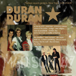 Duran Duran - Madison 1987 (back cover)