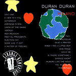 Duran Duran - Strange Behaviour Milano (back cover)