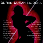 Duran Duran - Strange Behaviour Modena (back cover)