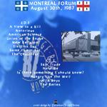 Duran Duran - Montreal Forum (back cover)