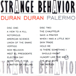 Duran Duran - Strange Behaviour Palermo (back cover)