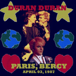 Duran Duran - Paris 87 (cover)