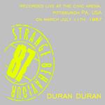 Duran Duran - Pittsburgh 1987 (back cover)