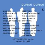 Duran Duran - Popular Creek (back cover)