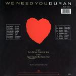 "Duran Duran - Skin Trade 12"" (back cover)"