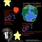 Duran Duran - Strange Behaviour Gothenburg (back cover)