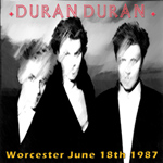 Duran Duran - Worcester 1987 (cover)
