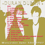 Duran Duran - Worcester 1987 (back cover)