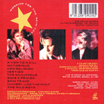 Duran Duran - Working For The Skin Trade (back cover)