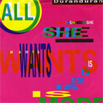 "Duran Duran - All She Wants Is 7"" (cover)"