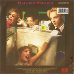 "Duran Duran - All She Wants Is 7"" (back cover)"