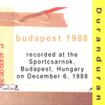 Duran Duran - Budapest 1988 (back cover)