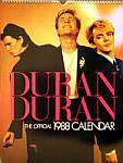 Duran Duran - Calendar 1988 (cover)