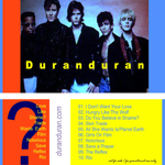 Duran Duran - The Capitol Records Show (back cover)