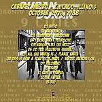 Duran Duran - Cabaret Metro Club Chicago (back cover)