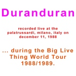 Duran Duran - 2nd Night In Milano (back cover)