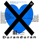 Duran Duran - La Locomotive Paris (back cover)