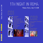 Duran Duran - 1st Night In Roma (back cover)