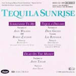 Soundtracks - Tequila Sunrise (back cover)