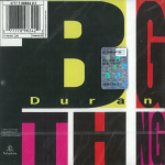 Duran Duran - Big Thing (back cover)