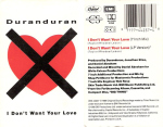 Duran Duran - I Don´t Want Your Love CS (cover)