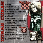 Duran Duran - Wembley 88 (back cover)