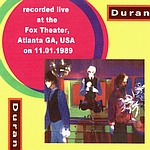 Duran Duran - Atlanta 1989 (back cover)