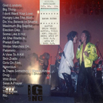 Duran Duran - Austin Opera House (back cover)